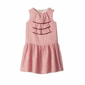 GUCCI KIDS HIBISCUS RED DRESS